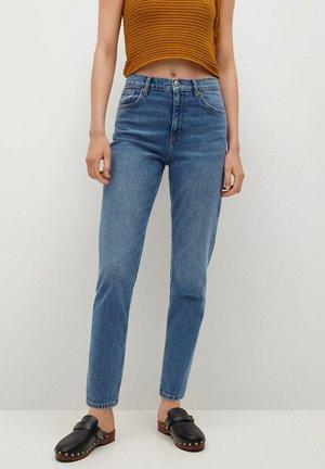 MOM FIT - Jean slim - medium blue