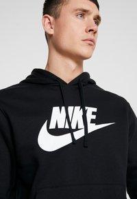 Nike Sportswear - Sweat à capuche - black/white - 4