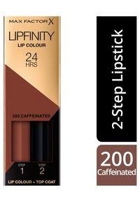 Max Factor - LIPFINITY - Liquid lipstick - 200 caffeinated - 1