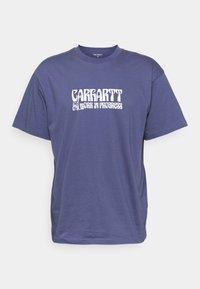 Carhartt WIP - REMOVALS - Printtipaita - cold viola/white - 4