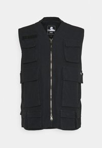 Edwin - TACTICAL VEST - Waistcoat - black wash - 0