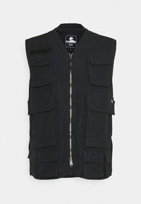 TACTICAL VEST - Waistcoat - black wash