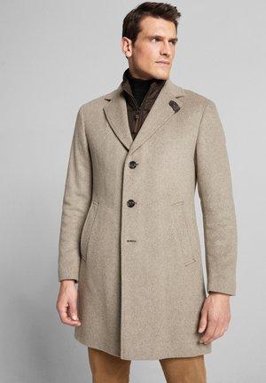 MORRIS - Short coat - dunkelbeige