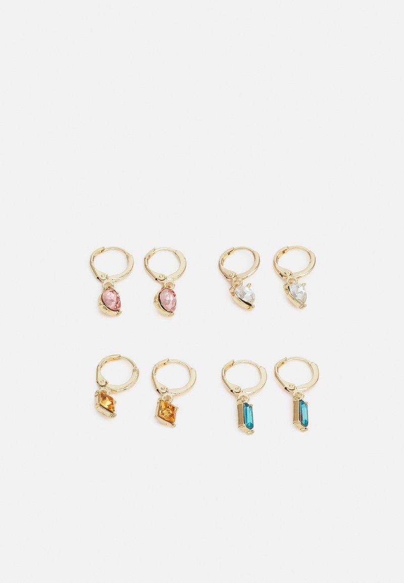 Pieces - PCLARSIGNE EARRINGS 4 PACK - Øredobber - gold-coloured/multi