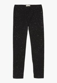 OVS - SPRAY GLITTER - Leggings - black beauty - 0