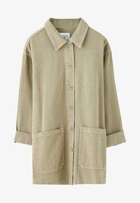 PULL&BEAR - IM WORKWEAR LOOK - Summer jacket - khaki - 4