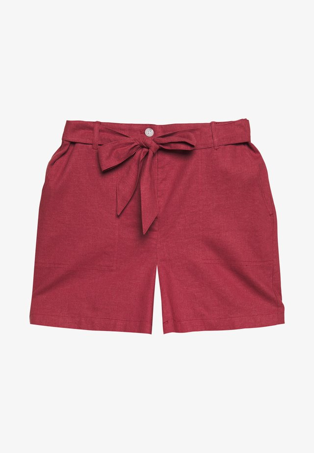 Shorts - peonies