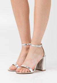 RAID - LORAINE - High heeled sandals - silver - 0