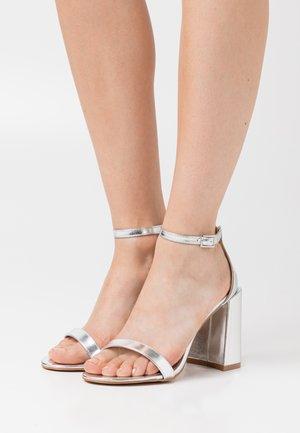 LORAINE - Sandals - silver