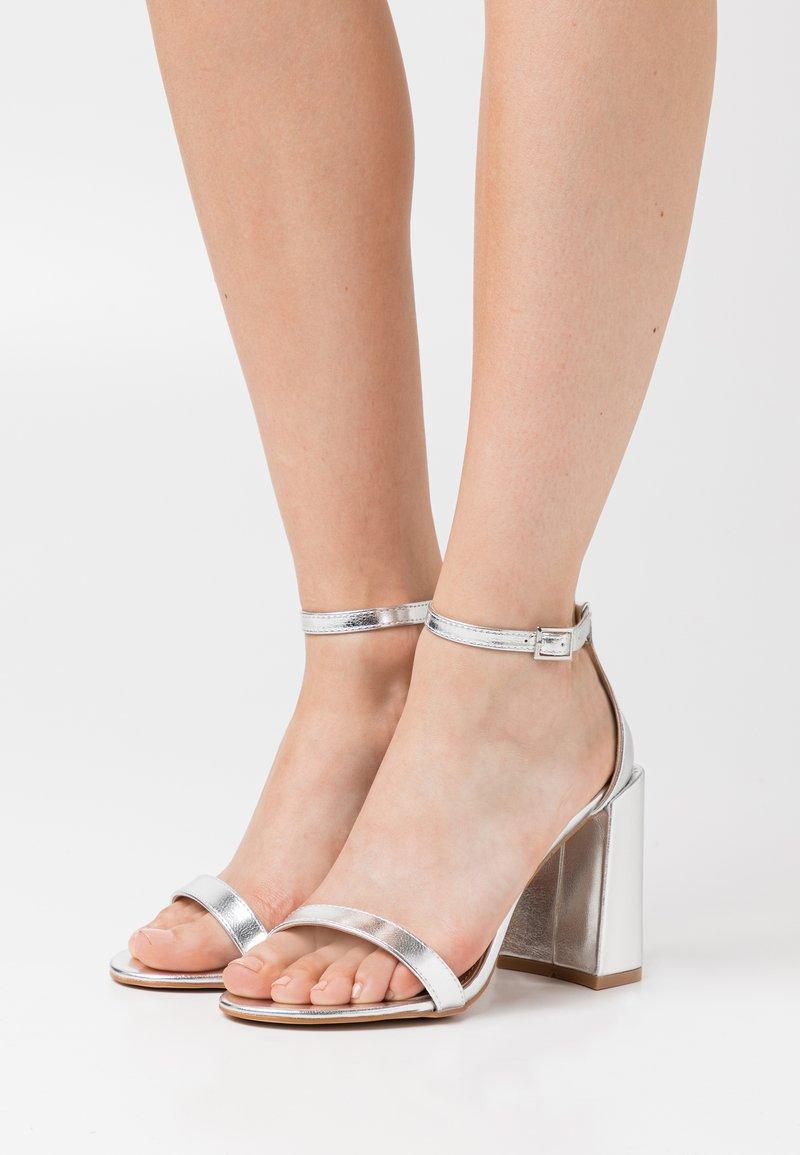 RAID - LORAINE - High heeled sandals - silver