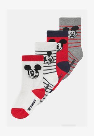 TODDLER BOY MICKEY MOUSE 4 PACK - Strumpor - multi-coloured