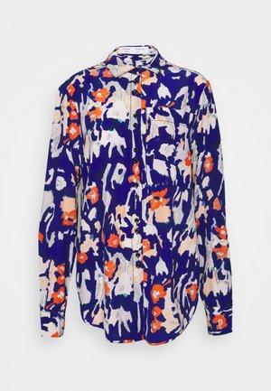 PAINTED FLORAL - Camicia - orange multi