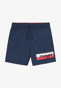 Tommy Hilfiger - MEDIUM DRAWSTRING - Shorts da mare - blue - 2