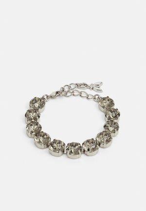 BRACCIALE - Armbånd - black/silver-coloured