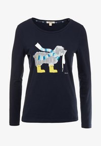 Barbour - OYSTER TEE - Long sleeved top - navy - 3