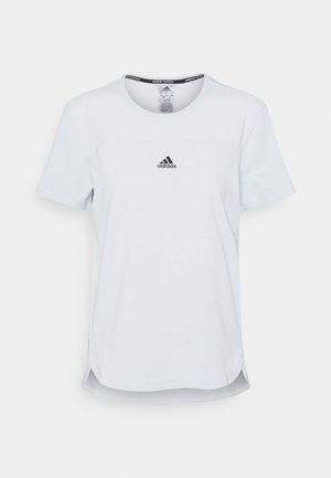 AEROREADY TEE - T-shirt basic - halblu