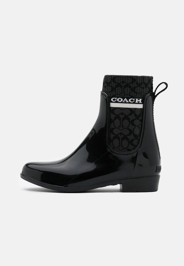 RIVINGTON RAIN BOOTIE - Bottes en caoutchouc - black