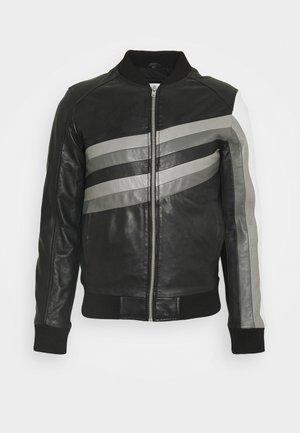 HYPE - Leather jacket - black