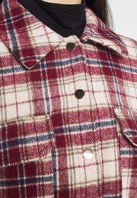 Vila - VISARAS SHAKET - Summer jacket - red - 5