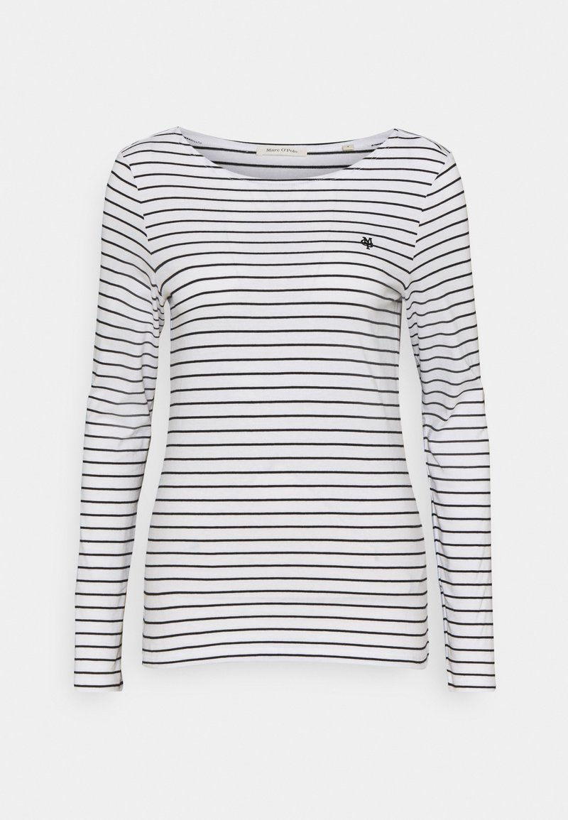 Marc O'Polo - LONG SLEEVE - Long sleeved top - paper white