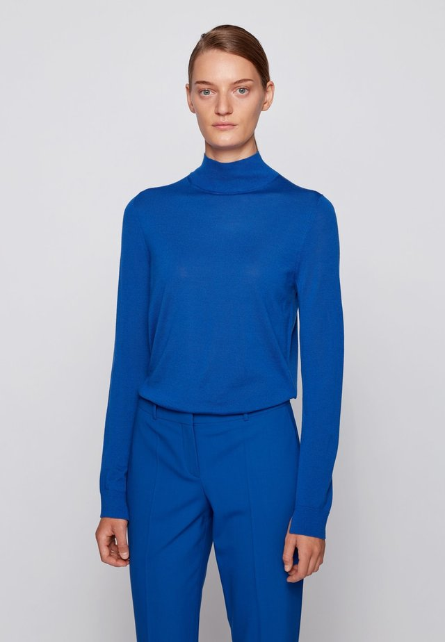 FALIANA - Strickpullover - light blue