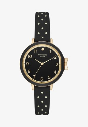 PARK ROW - Watch - schwarz/weiss