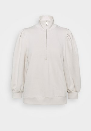 NANKITAGZ ZIPPER  - Sweatshirt - moonbeam