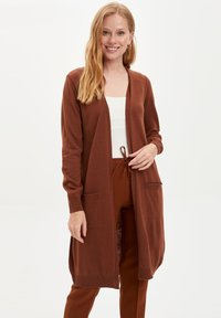 DeFacto - Strickjacke - brown - 0