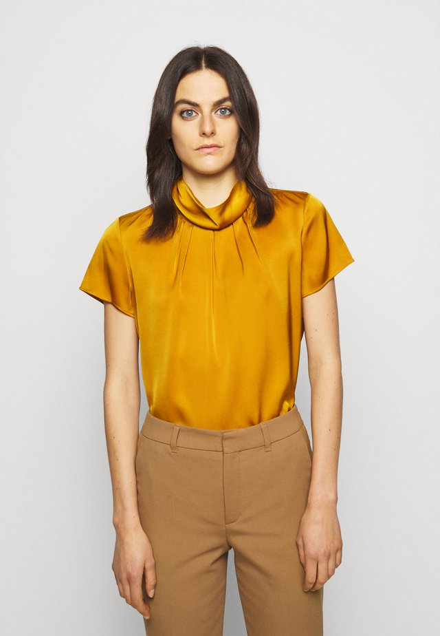 CIVERI - Bluse - dark yellow