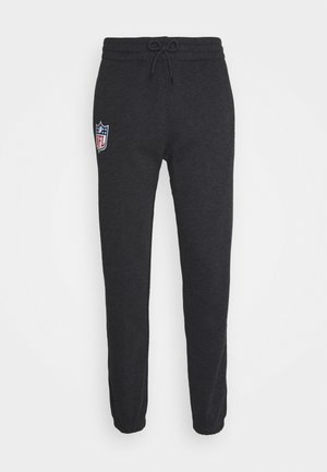 NFL HEATHER JOGGER - Tracksuit bottoms - black