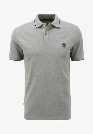 Polo shirt - medium grey heather