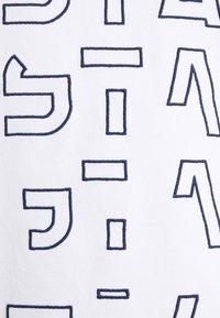 G-Star - EMBRO GRADIENT GRAPHIC LASH - T-Shirt print - white - 2