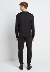 HUGO - DEROL ZA - Maglietta a manica lunga - black/gold - 2