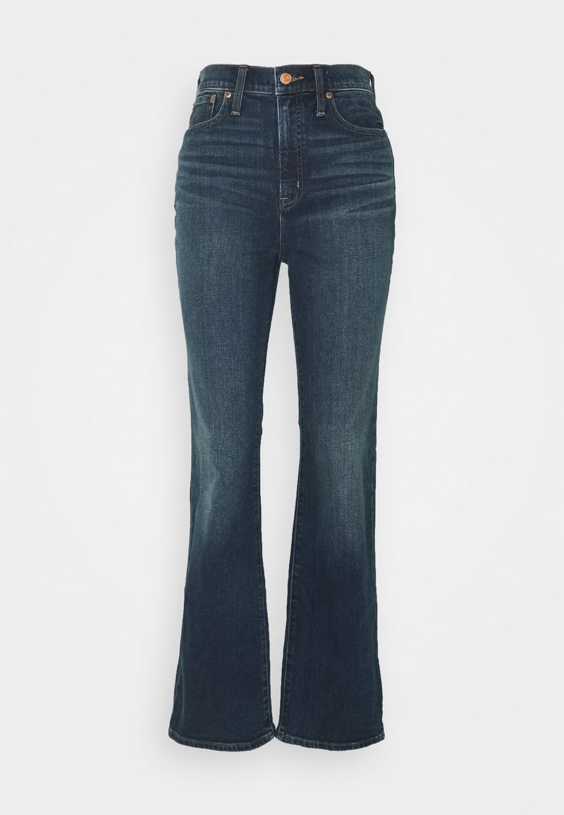J.CREW - CURVY FULL LENGTH BOOT IN KETTLE - Flared Jeans - kettle wash