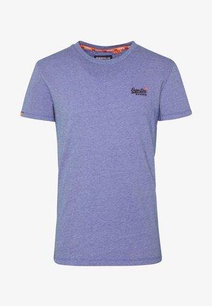 VINTAGE CREW - Basic T-shirt - cobalt