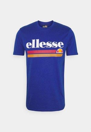 TRISCIA TEE - Camiseta estampada - blue