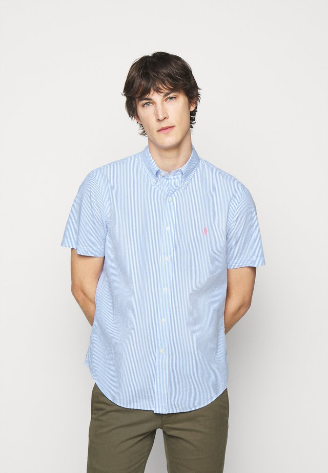 SEERSUCKER - Skjorter - light blue
