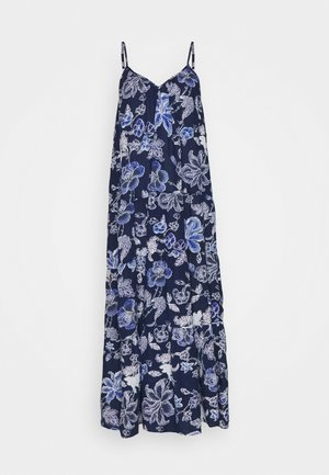 SUMDW FLAX DRESS - Camicia da notte - pangea blue