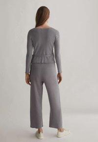 OYSHO - Kalhoty - grey - 2