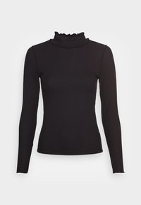 VMRAMONE HIGH NECK - Long sleeved top - black