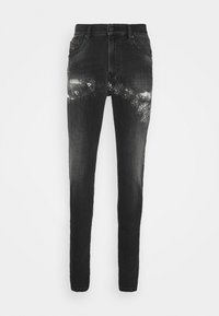 Diesel - D-AMNY-Y-SP4 - Slim fit jeans - washed black - 5