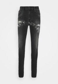 D-AMNY-Y-SP4 - Jeans slim fit - washed black
