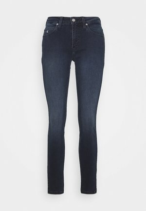 MID RISE SKINNY ANKLE - Jeans Skinny Fit - blue black rivet