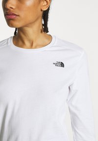 The North Face - WOMENS SIMPLE DOME TEE - Long sleeved top - white