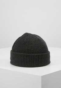 Jack & Jones - JACTWISTED SHORT BEANIE - Beanie - forest night/navy blazer - 2