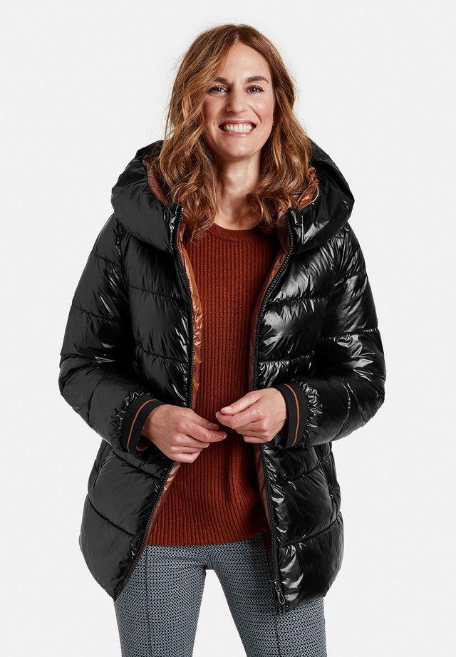 MIT GLANZ - Winter jacket - schwarz
