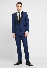 Jack & Jones PREMIUM - JPRSOLARIS SINATRA TUX SUIT SUPER SLIM FIT - Kostym - medieval blue - 1