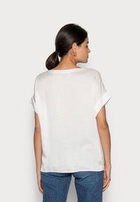 Esprit Collection - FLOWER - Print T-shirt - off white - 2