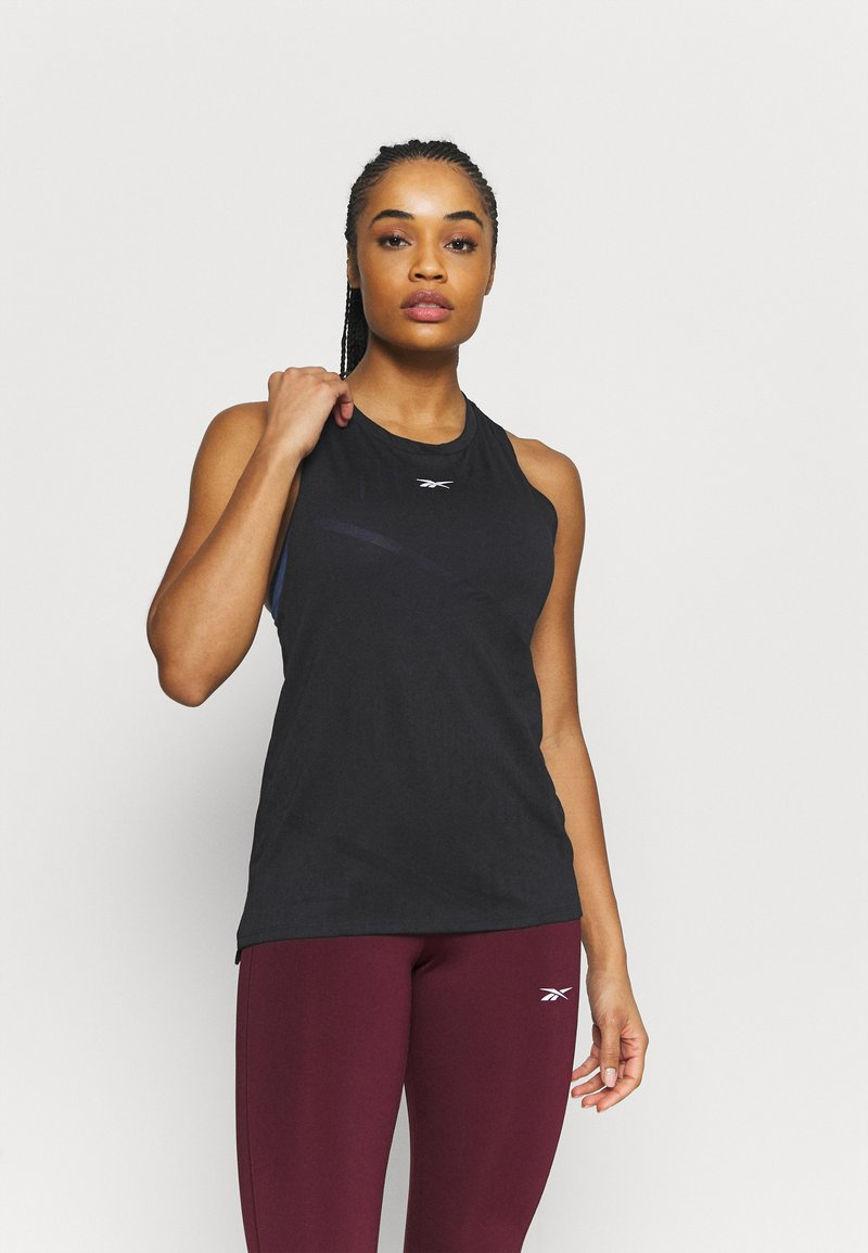 Reebok - BURNOUT TANK - Top - black