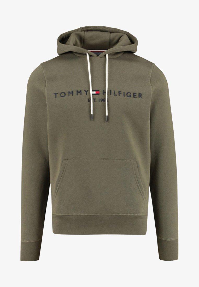Tommy Hilfiger - LOGO HOODY - Hoodie - khaki